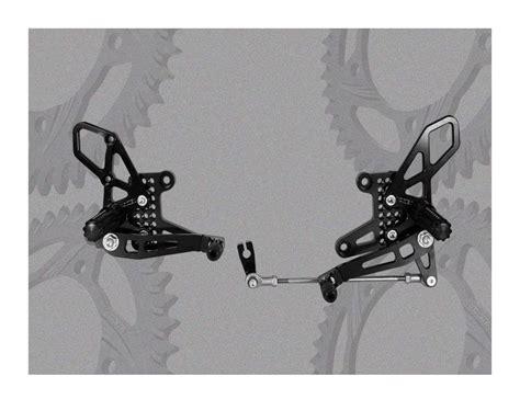 Knalpot Racing Honda Cbr 250 R Scorpion Sark Pelangi Fullsystem vortex adjustable rearsets honda cbr250r 2011 2012 cycle gear