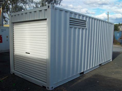 Build Homes Online by 20ft Bunded Dg Workshop Shipping Containers For Sale National Depot Network