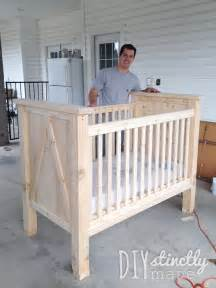How To Make A Crib by Diy Crib Diystinctly Made