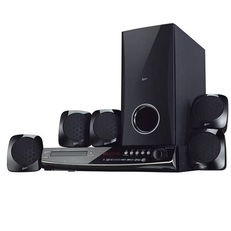 Home Theater J And E home theater leadership 424 5 1 canais dvd player entrada usb leitor de cart 227 o sd e r 225 dio