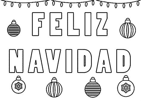 imagenes que digan feliz navidad dibujos de feliz navidad para colorear e imprimir
