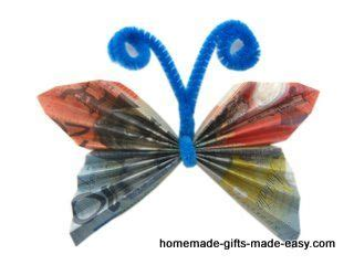 Money Origami Butterfly - money butterfly origami money folds