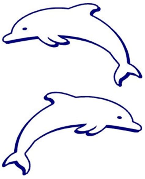 dolphin outline clipart best dolphins outline clipart best