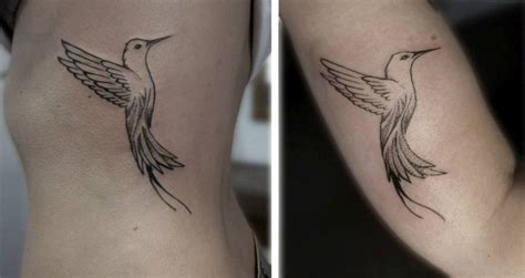 hummingbird outline tattoo bird tattoos designs pictures page 90