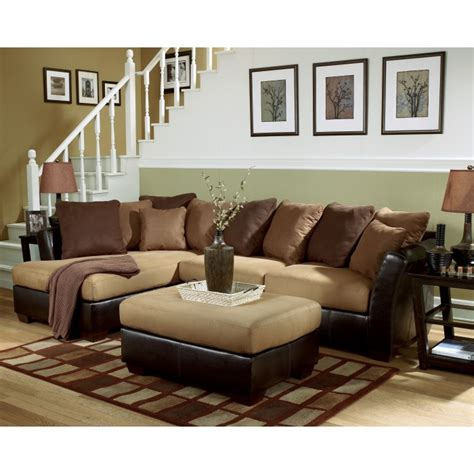 ashley furniture victory sectional ashley furniture victory chocolate sectional reviews