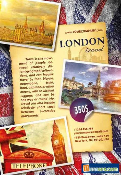 flyer design london london travel flyer psd template 187 free download ae