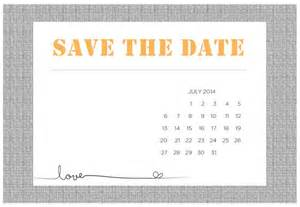 Save The Date Template by 4 Printable Diy Save The Date Templates