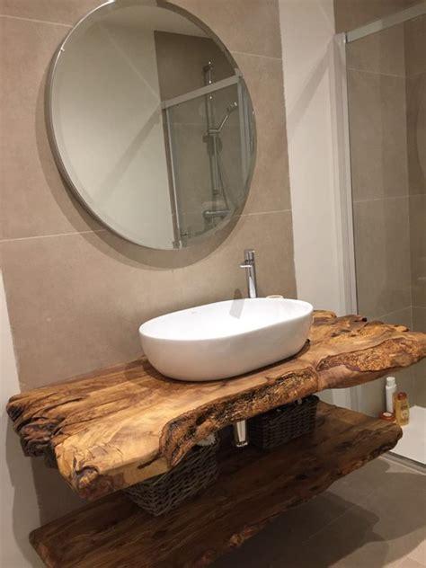 encimera baño madera rustica como utilizar a madeira na decora 231 227 o do banheiro 171 decor