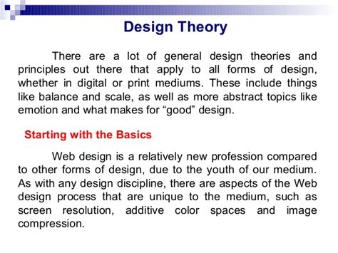 layout of a theory test graphic design theory practice