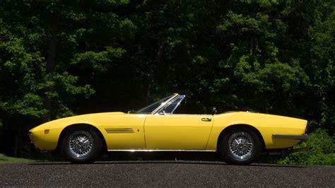 1969 Maserati Ghibli by 1969 Maserati Ghibli 4 9 Spyder S121 Monterey 2016