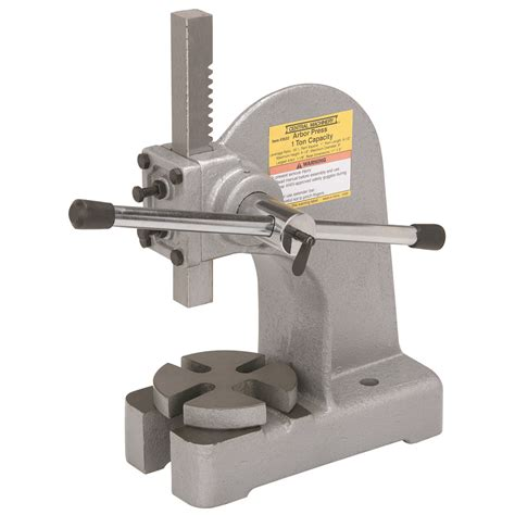 mechanical bench press 1 ton arbor press other arbor presses harbor freight tools