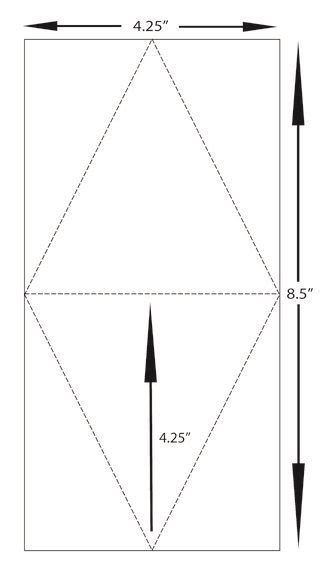 Triangle Card Template by Leadership Display 3 Triangle Box Template