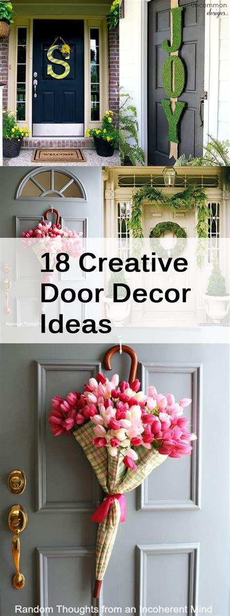 home compre decor 7 design 18 creative door decor ideas door design personality