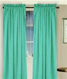 Green Window Curtains Solid Jade Green Colored Window Curtain Available In Many Lengths And 3 Rod Pocket Sizes