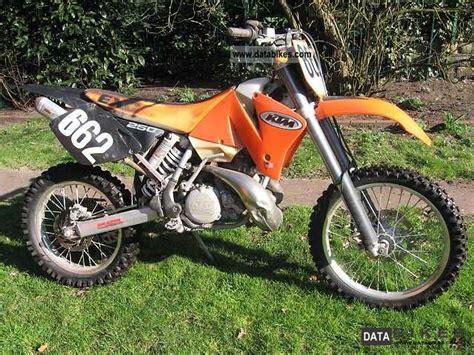 2002 Ktm 250 Exc Specs 2002 Ktm Exc 250 2t