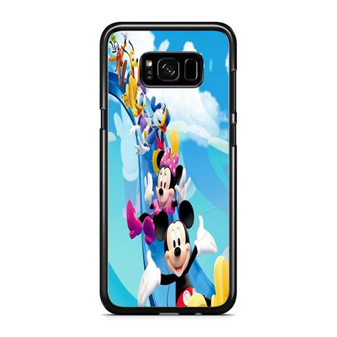 Casing Hp Samsung Galaxy S8 S8 Plus Mickey Mouse Wallpaper X4310 mickey mouse and all friends disney samsung galaxy s8 plus comerch