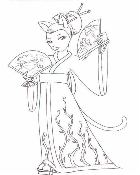 free coloring pages of spanish dancers
