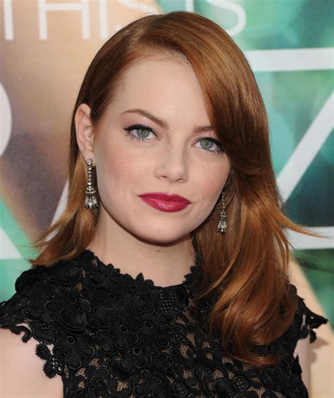 emma stone jewelry emma stone shines with dangling diamond earrings at quot crazy