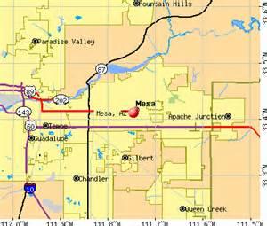 mesa arizona az profile population maps real estate