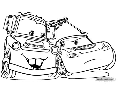 cars coloring book disney pixar s cars coloring pages disneyclips