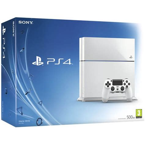 sony console sony playstation 4 500gb console white consoles