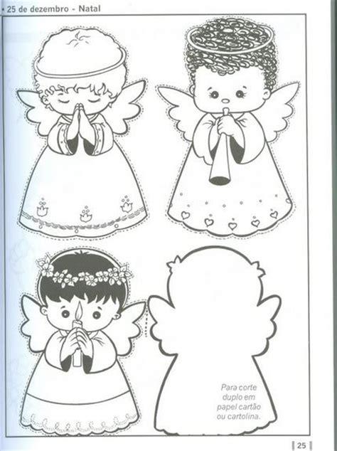 moldes para fomi de angeles angelitos de foami con patrones imagui