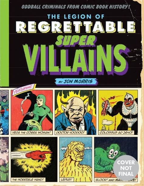 Book Review Of The Oddballs By Carlip by Book Review The Legion Of Regrettable Supervillains