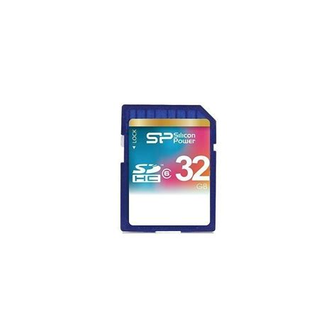 Memory V 32gb Class 6 Silicon Power Memory Card Sdhc 32gb Class 6 Memory Cards Photopoint