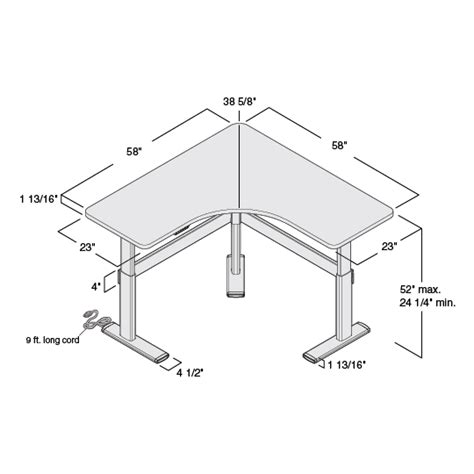 desk sizes beautiful corner office desk dimensions pictures