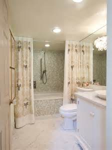 bathroom decorating ideas shower curtain window