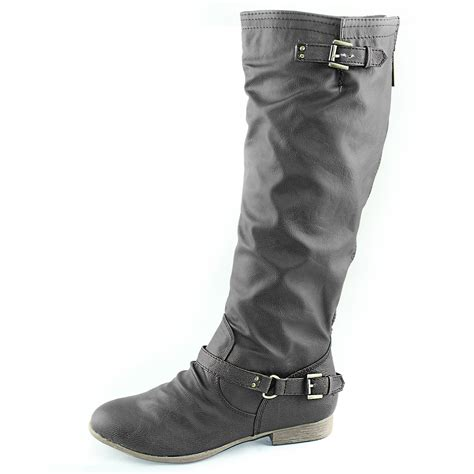 womens motorcycle riding shoes women mid calf knee high motorcycle riding military combat