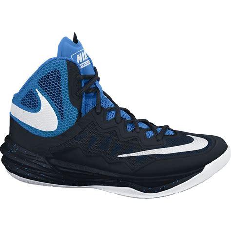 Nike Prime Hype Df nike prime hype df ii mens basketball shoes black white photo blue sportitude
