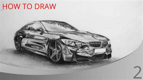 bmw car drawing how to draw a car bmw m4