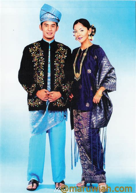 Endia Jacket Wanita Navy pakaian tradisi kaum semenanjung malaysia fashion news