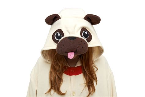pug colorado pug kigu kigurumi animal onesies