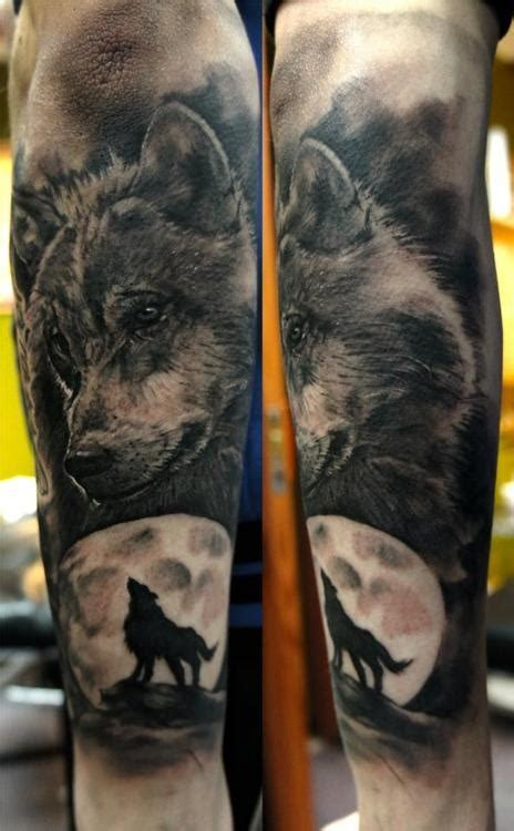 wolf tattoo forearm sleeve wolf design of tattoosdesign of tattoos