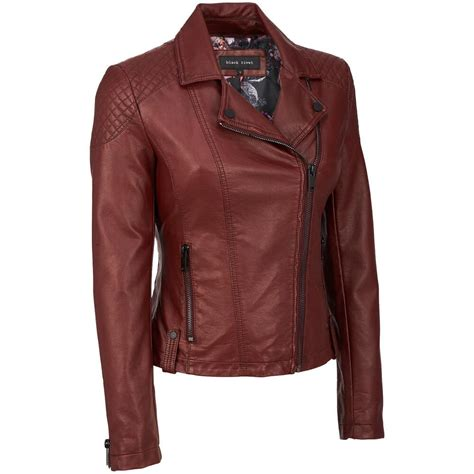 leather cycle jacket black rivet womens faux leather cycle jacket w quilted