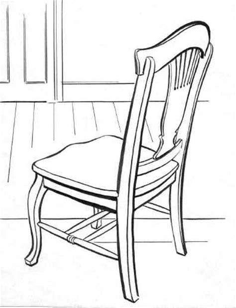 stuhl zeichnung 椅子素描 黑马素材网