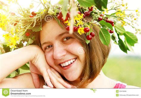 Cheerful Fantasia Flowercrown Flower Crown with flower crown