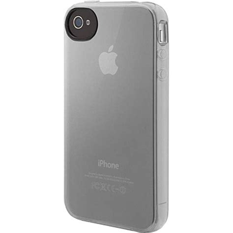 Iphone B H by Belkin Grip Vue For Iphone 4 Clear F8z809ttc03 B H