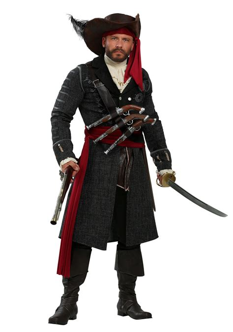 halloween costumes blackbeard costume for men