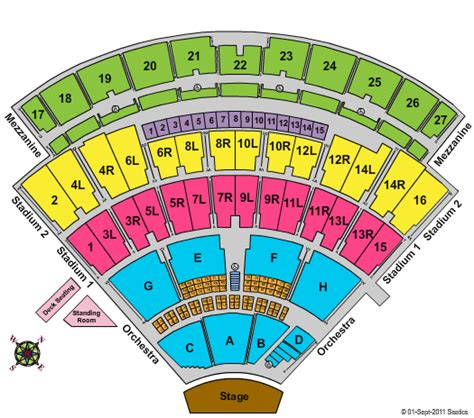 nikon theatre seating chart incubus nikon at jones theater tickets incubus