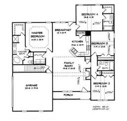1800 Square Foot Floor Plans by Floor Plan 1800 Sq Ft Home Sweet Home Pinterest