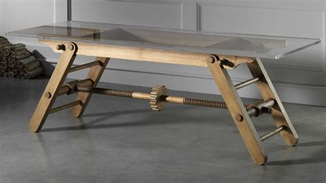 diy adjustable height table legs two tables named compass core77
