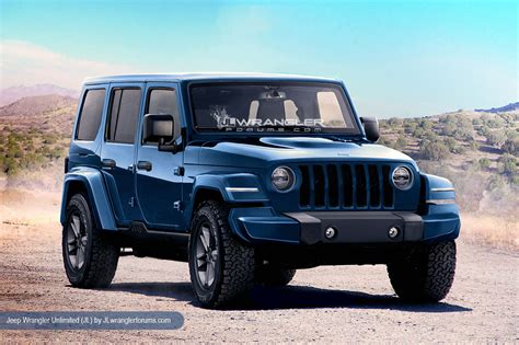2018 Jeep Wrangler Get Gets New Looks And Powertrains