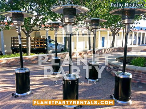 Patio Heaters For Rent Heater Includes Propane Gas Rent A Patio Heater