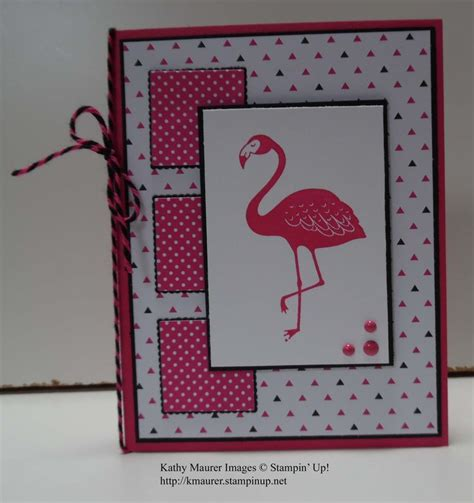 flamingo pop up card template 437 best cards with inchies images on card