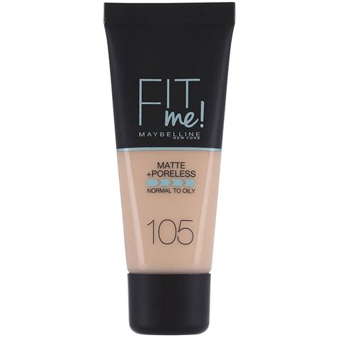 Maybelline Fit Me maybelline fit me matte poreless make up notino cz