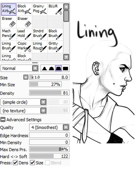paint tool sai reference boomer paint tool sai brush settings let s get some
