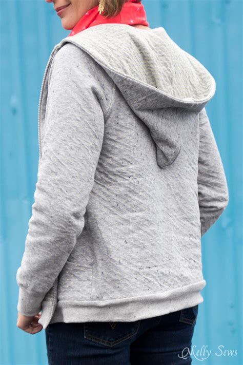 sweatshirt pattern free how to add a hood to a jacket melly sews